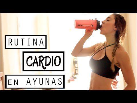 RUTINA Cardio en Ayunas (Fit en Casa)   Naty Arcila   - YouTube