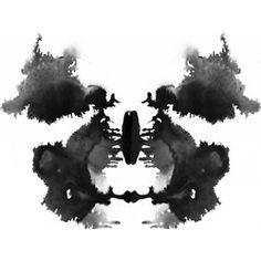 Rorschach blot spot tattoo - Google Search
