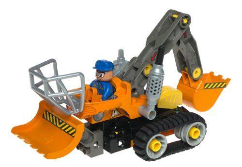 auto met van alles en nog wat van lego toolo - soort technisch duplo