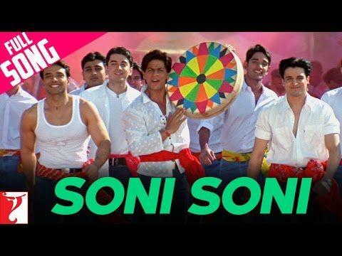 Soni Soni - Canción completa de Holi - Mohabbatein - YouTube