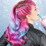 6 sommerbunte Haarideen für verwegene Mädchen (12 – – #Kurzhaarfrisuren
