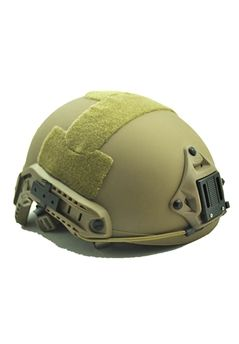 Airsoft Alien MH Type Tactical Tan Fast Helmet With Side Rails and NVG Mount DE ! Buy Now at gorillasurplus.com