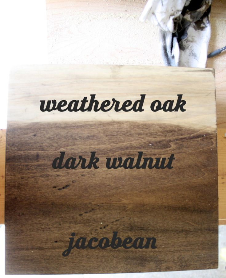1000 Ideas About Jacobean Stain On Pinterest Red Oak