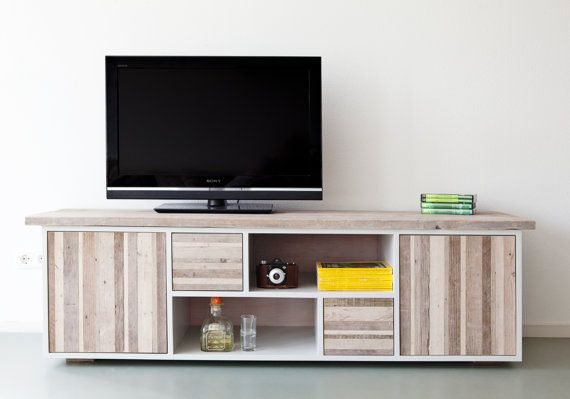 Television cabinet/ media station /low by jamesallworthyshop