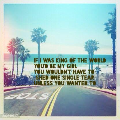 Weezer  King of the world Lyrics