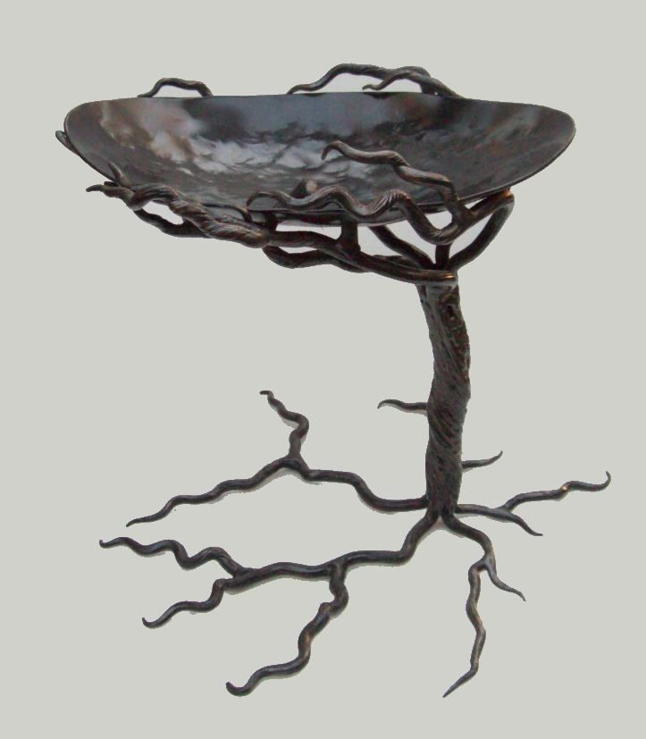 Tree Design || Bird bath