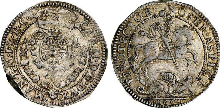 NumisBids: Numismatica Varesi s.a.s. Auction 65, Lot 415 : MANTOVA - CARLO II GONZAGA/NEVERS (1647-1665) Quarto di Ducatone...
