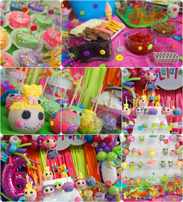 images about Lalaloopsy Party on Pinterest  Button cake, Cake pop ...