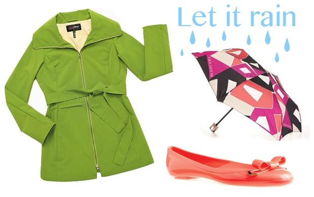 7 bright rainy day accessories.Bright Rainy, Rainy Days