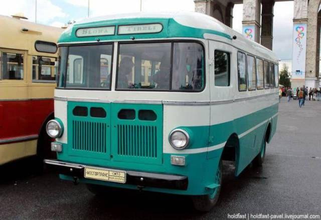 1957 RAF-251. The Riga Autobus Factory