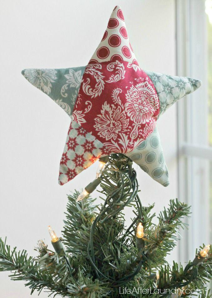 EPP Star - Christmas Tree Topper - free pattern wow, thanks so xox ☆ ★   https://www.pinterest.com/peacefuldoves/