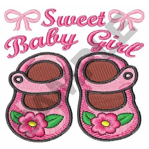 Sweet To Be  Embroidery Design