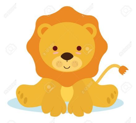 baby lion animal clipart - Clipground