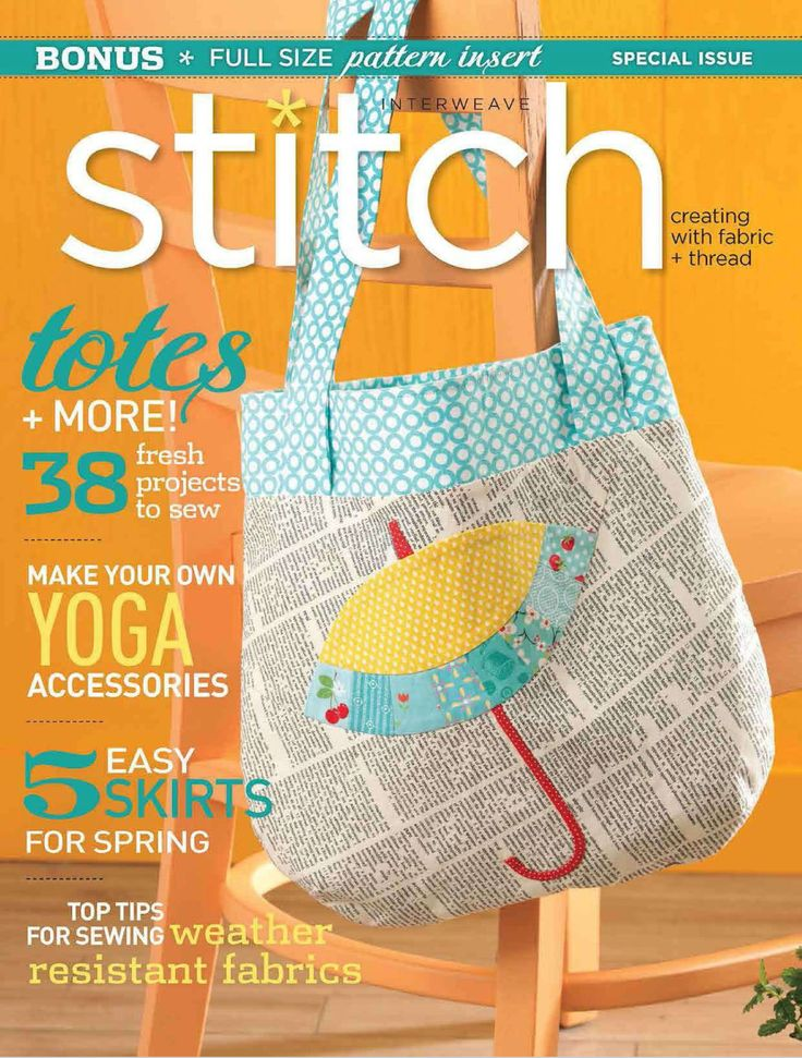 Interweave Stitch - Spring 2013