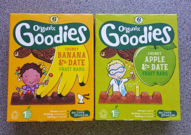 Organix Goodies chunky fruit bars   Nobody Said It Was Easy