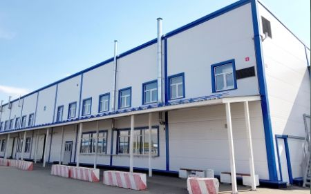 Завершено строительство административно-складского комплекса в Домодедово - Сайт города Домодедово