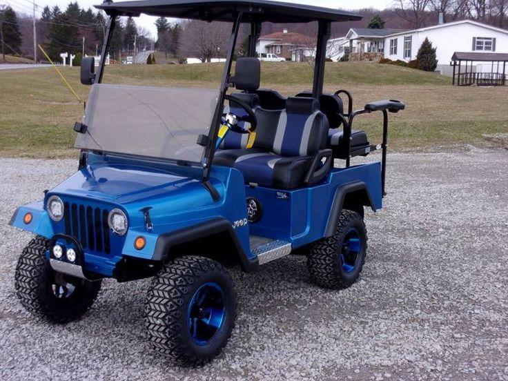 2010 Jeep Like Golf Cart Yamaha In Acme PA - Area 31 Golf Carts