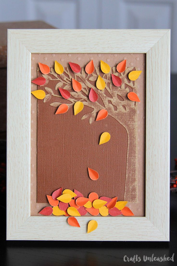 This pretty fall paper craft project combines a warm autumn color palette with rich texture from the use of embossing folders. Get the tutorial now!