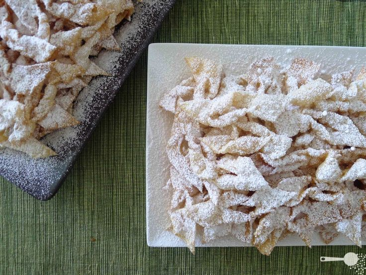 My favourite dessert we make during winter every year. Crostoli. Nonna ...
