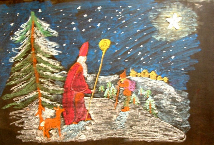 St. Nicholas is coming! Second Grade- Mrs. DuRocher