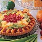 White Chocolate Fruit Tart: White Chocolates, Fruit Tart Recipes, Tarts Allrecipes Com, Fruit Pizzas, Chocolates Fruit, Fruit Tarts Recipes, Summertime Desserts, Summer Desserts, Fruit Pies