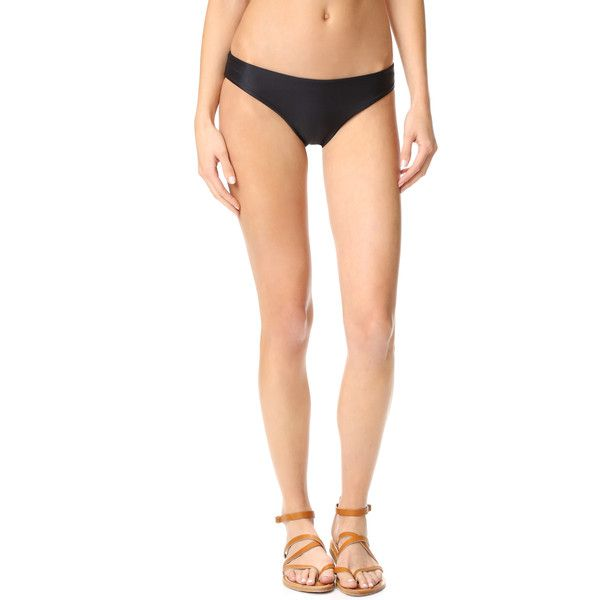 Tori Praver Swimwear Cristina Bikini Bottoms ($98) ❤ liked on Polyvore featuring swimwear, bikinis, bikini bottoms, swim bikini bottoms, bikini bottom swimwear, tori praver swimwear and bottom bikini