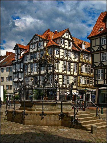 Agustus Brackemeier Born 1839- Helen's Great Grandfather. Old Town - Hanover, Germany