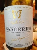 Pauline Sancerre 2011 #wine #enjoy #drink #
