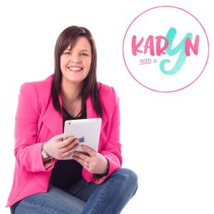 Karyn Hogan talks to Tan and Amanda about how a loss of $80,000 changed her way of thinking and turned her into a well known Social Media Expert. She says #blogging #abp