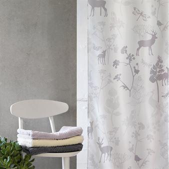 Meadow shower curtain - cloud 180x200 cm - Susanne Schjerning