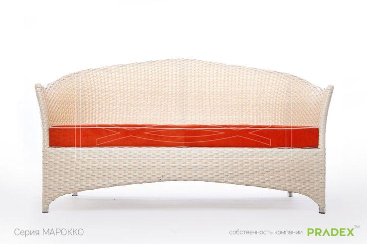 Диван Марокко был разработан дизайнерами PRADEX для создания в интерьере атмосферы спокойства и расслабления. А его обтекаемая форма, узорчатое плетение и витиеватые линии помогают в этом. #rattan #pradex #furniture #couch #мебель #прадекс #ротанг  #диван   #отдых