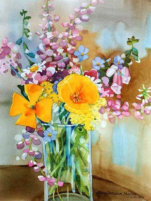 Oregon waystation wildflowers by mary sorrows hughes for Oregon craft floral