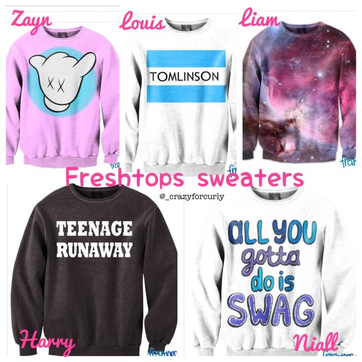 Freshtops sweaters