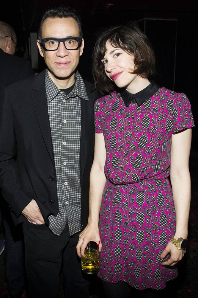 Fred Armisen, Carrie Brownstein. on Portlandia. They are hilarious!