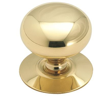 Amerock 544 Allison Value Hardware Inch Diameter Mushroom Cabinet Knob  Solid Brass Cabinet Hardware Knobs Mushroom