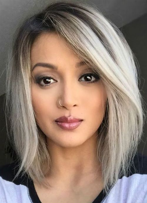 New Perfect A Line Bob Haircut Styles For Women To Show Off In 2019