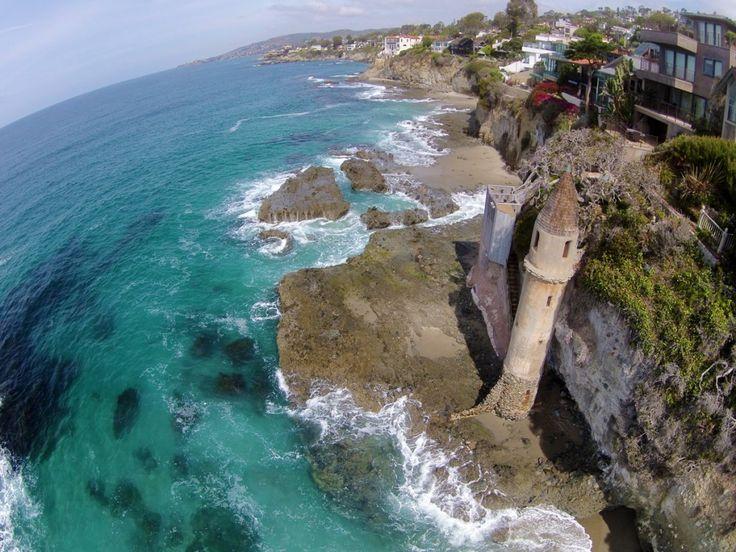 castle tower laguna beach victoria beach