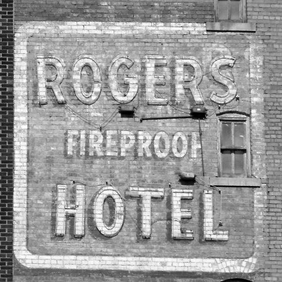 Rogers Ghost Sign