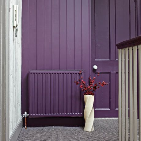 painted radiator: here's the best example I've seen of something I'm considering getting done. I think I like it.