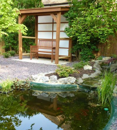 28 best images about sheds on pinterest toronto small for Japanese tea garden design