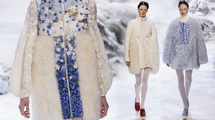 I'm in love!!!! Just want winter back for this:)))  Обзор Buro 24/7: Moncler Gamme Rouge, осень- зима 2016