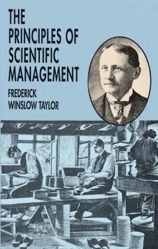 The Principles of Scientific Management by Frederick Winslow Taylor,http://www.amazon.com/dp/0486299880/ref=cm_sw_r_pi_dp_m-Nosb0SCMGQ5YG2