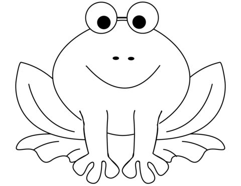 frog coloring pages printable  frog coloring pages