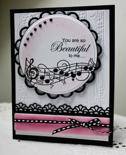 HYCCT1207 Beautiful music by Holstein - Cards and Paper Crafts at Splitcoaststampers