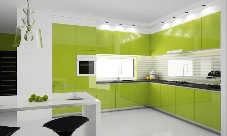 Kitchen: Wonderful Color Decoration Ideas for Kitchen: Magnificent ...