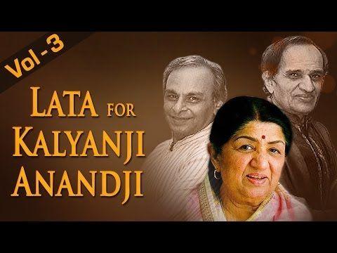 Best Of Kalyanji Anandji  Songs - Old Hindi  Bollywood Songs Lata