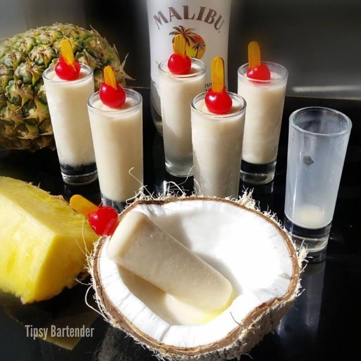 awesome Pina Colada Popsicles - TipsyBartender.combyDiMagio
