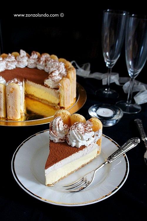 Cheesecake Tiramisù - senza cottura