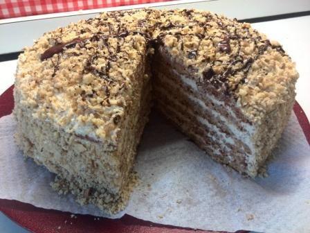 Marlenka torta, recepty, Torty | Tortyodmamy.sk