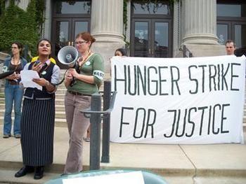 Go on a hunger strike
